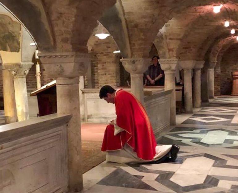 Messe avec le Père Michel Marie